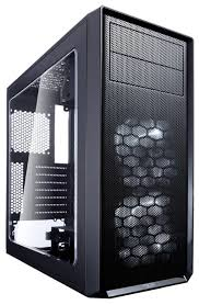 Компьютерный <b>корпус Fractal Design Focus</b> G Black — купить по ...