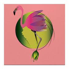 """Холст 30x30 """"Розовый <b>фламинго</b>"""" #2773079 от Алена - <b>Printio</b>"""