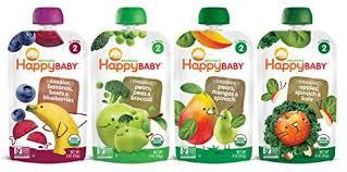 Happy Baby Organic Stage 2 Baby Food Simple ... - Amazon.com