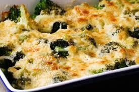 brócoli gratinado al horno