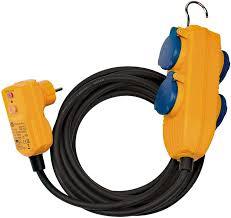 1168730010 <b>Brennenstuhl удлинитель</b> 10 м., <b>RCD Protected</b> Cable ...
