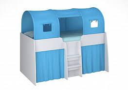 Кровать-чердак <b>Polini</b> Kids Simple 4100 и <b>аксессуары</b> в ...