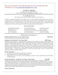 cosmetology resume skills template cosmetology resume skills