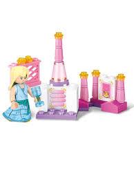 """Конструктор детский блочный """"Розовая мечта:Завтрак <b>принцессы</b>"""""""