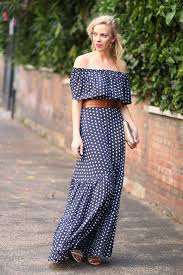 { <b>Romantic</b> Ruffles: <b>Off</b>-the-<b>shoulder</b> dress, Lace-up sandals & Gold ...