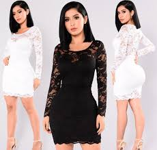 <b>Fashion 2019 New Fashion</b> Sexy Women Dress <b>Sheer</b> Floral Lace ...