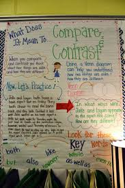 17 best images about compare and contrast the polar compare and contrast anchor charts