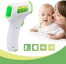 CNSL <b>Infrared</b> Forehead Thermometer <b>Non</b>-<b>Contact</b> Digital ...