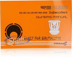300w re audio srx12d4 sub kicker zx300 1 amplifier kit