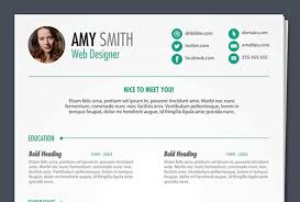 best free creative resume templates  updated free psd print ready resume template