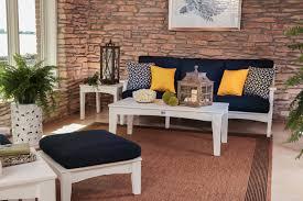 blue patio cushions