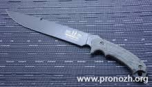 Фиксированный <b>нож Buck Hood Hoodlum</b>, Powder Coated 5160 ...