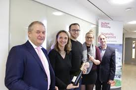 sheffield hallam students raise a glass at champagne masterclass sheffield hallam hospitality students raised their glasses during a fizz masterclass the director of the