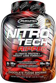 MuscleTech <b>Nitro</b>-<b>Tech Ripped</b> | Lean Whey Protein Powder
