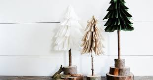 How to Make DIY Rustic <b>Felt Christmas Trees</b> | Little House of Four ...