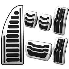 Stainless Steel <b>Car</b> Interior Rest Pedals <b>Fuel Gas Brake</b> Pedal ...