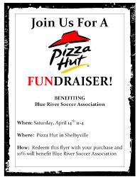 fundraising flyer cf pizza hut fundraiser flyer