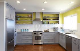Kitchen Without Upper Cabinets Painted Kitchen Cabinet Ideas Freshome