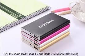 Kết quả hình ảnh cho PIN DU PHONG SAMSUNG MONG 12000
