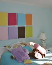Simple Bedroom Wall Painting Teenage Bedroom Colors With Adorable Plaid Fullcolor Wall Decor In