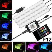 <b>Car</b> Atmosphere Light Foot Light Colorful APP <b>Voice Control</b> RGB ...