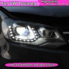 Online Shop <b>Car Styling Head Lamp</b> for VW Touareg 2011-2015 ...