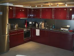 inspiring kitchen furniture and refrigerator with luxury l shaped kitchen cabinet and lighting cabinet and lighting