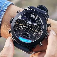 6.11 New <b>Big Mens Watch Sport</b> Quartz Men Wristwatches Quartz ...