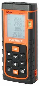 Лазерный <b>дальномер PATRIOT LM</b> 401 — купить по выгодной ...
