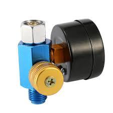 "1/4"" Air Pressure Regulator Paint Airbrush <b>Spray Gun Adjustment</b> ..."