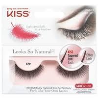 Kiss <b>накладные ресницы Looks</b> so Natural Shy — Ресницы и клей ...