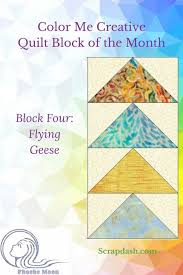 Quilt Tutorial: How to Make a Flying Goose Quilt Block   Flying geese ...
