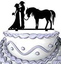 cowboy wedding cake toppers - Amazon.com