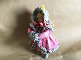 Ватная елочная игрушка «<b>Девочка в розовом</b>» – купить на ...