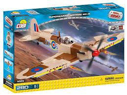 <b>Конструктор COBI</b> Самолет <b>Supermarine</b> Spitfire Mk. IX ...
