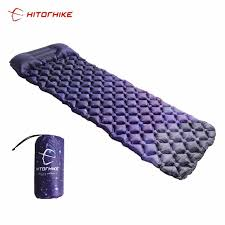 Tip #1344050554 Hitorhike Inflatable Sleeping Pad Camping Mat ...