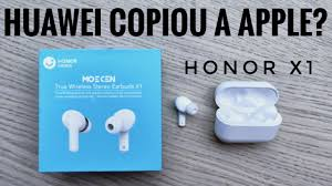 <b>HUAWEI</b> COPIOU A APPLE? Honor <b>Earbuds X1</b> - YouTube