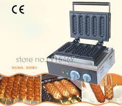 Free Shipping <b>Commercial</b> Use Non-stick <b>5pcs 110v 220v Electric</b> ...