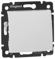 Кнопочный <b>выключатель</b> (кнопка) <b>Legrand Valena 774411</b>,10А ...
