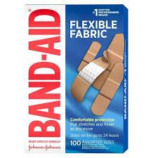 Band-Aid <b>Flexible Fabric</b> - 100ct : Target
