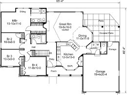 House Plan at FamilyHomePlans comBungalow Country Ranch Traditional House Plan Level One