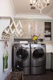 turn of the century modern bright modern laundry room