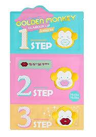 Buy Holika <b>Holika Golden Monkey Glamour</b> Lip 3-Step Kit (5 Pack ...