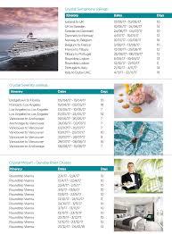 cruises international promotion crystal exchangerate offer cruises international promotion crystal exchangerate offer 2016