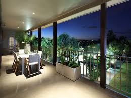 enclosed outdoor living design with balcony decorative lighting using tiles outdoor living photo 1472322 balcony lighting ideas