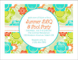 prosperity reunion party invitation templates edits easily in printable summer party invitation pool party