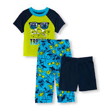 baby and toddler boys short sleeve shark trouble top shorts and baby and toddler boys short sleeve shark trouble top shorts and surf print pants 3