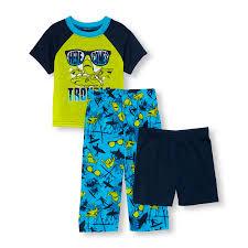 baby and toddler boys short sleeve shark trouble top shorts and baby and toddler boys short sleeve shark trouble top shorts and surf print pants 3