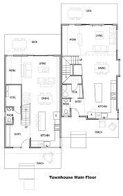 apartment comfortable interior townhouse main bedroom design layout
