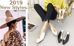 covoyyar 2018 ankle strap women ballet flats spring summer pointed toe gladiator ladies shoes cross tied casual wfs827